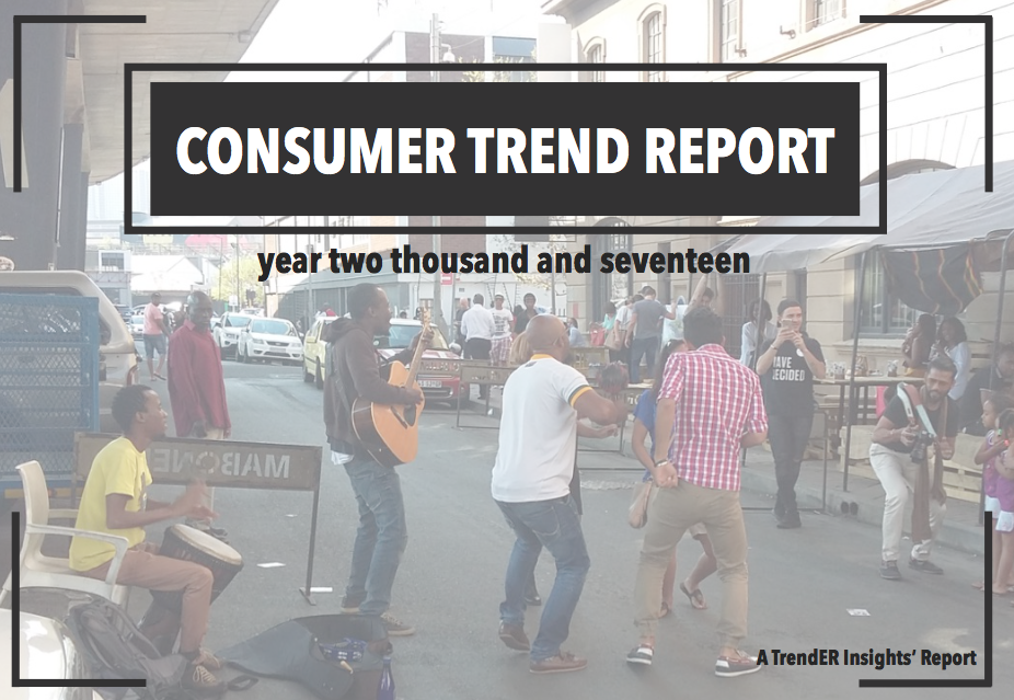 Cunsumer Trend Report 2017 TrendER Insights