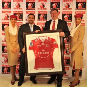 Emirates Lions sponsorship