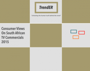 TrendER TV Commercial views South Africa