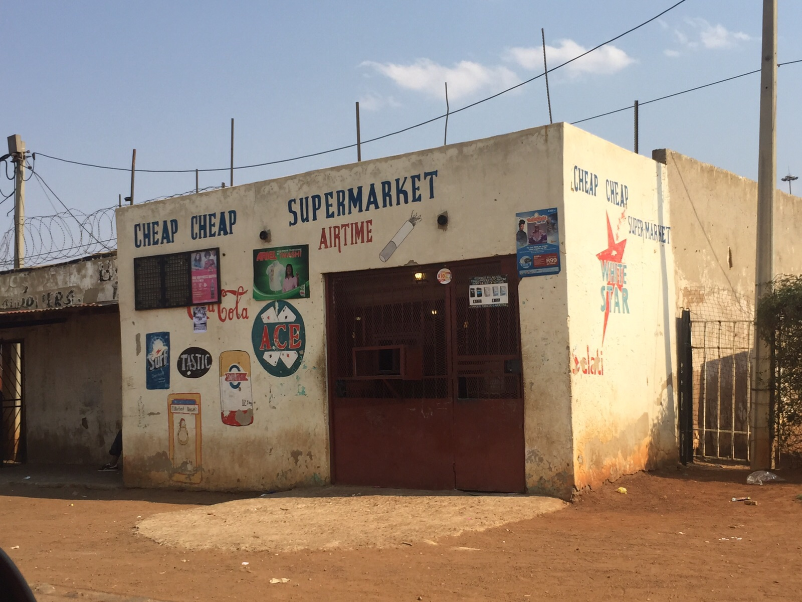 Relevance of spaza shops in modern day South Africa