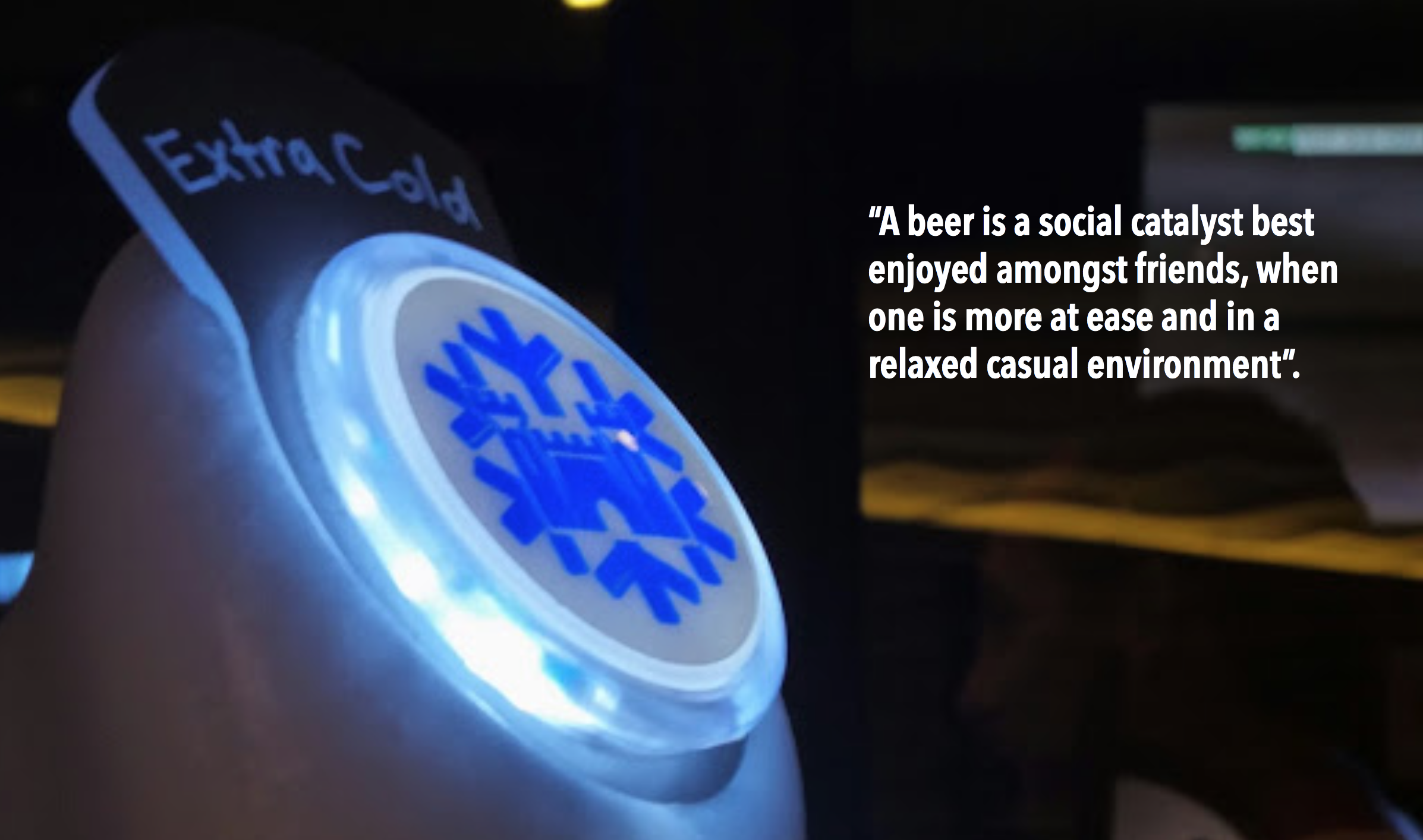 Flash insight: Beer drinking occasions