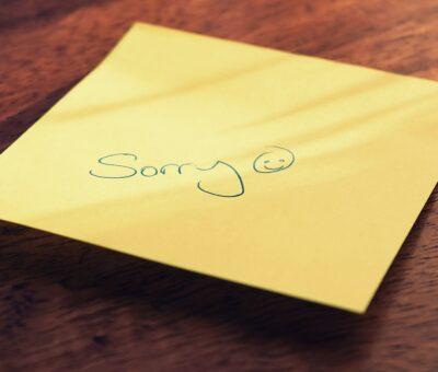 """Sorry ke…"" a Kasi proverb"