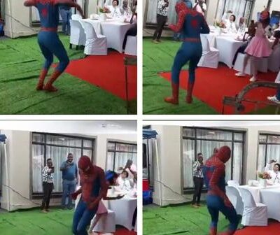Dancing Spider Man Trend in South Africa